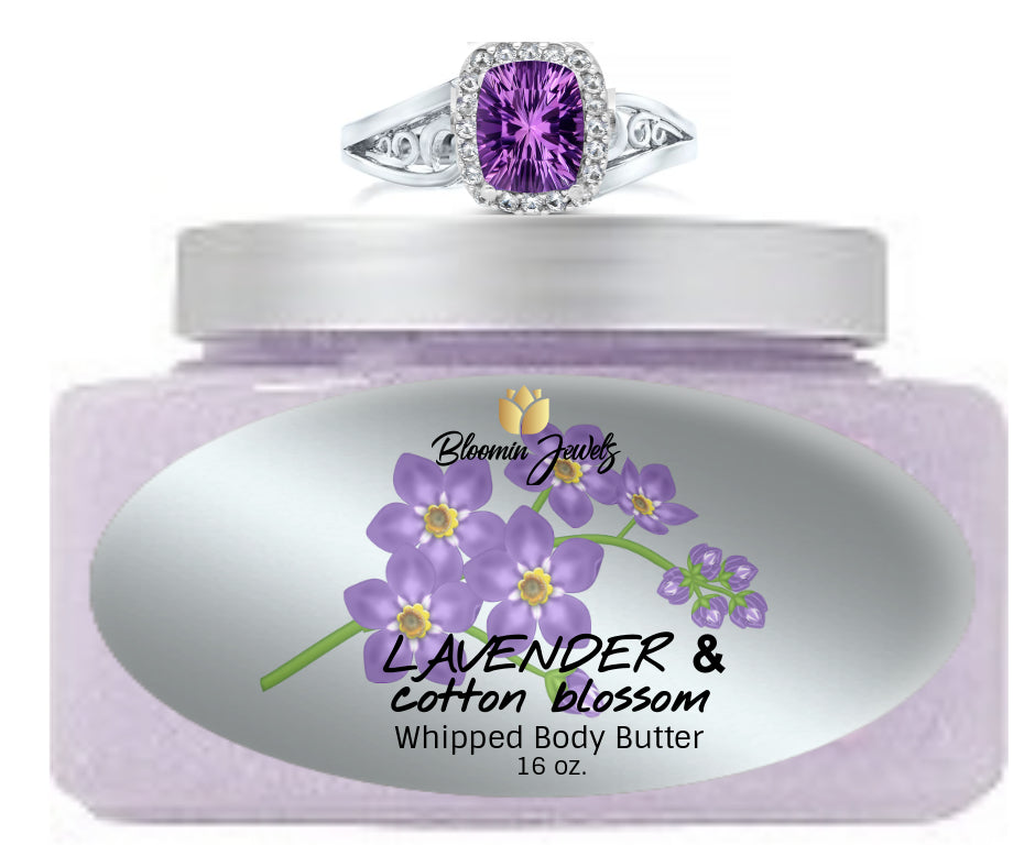 Lavender & Cotton Blossom - Jewelry Whipped Body Butter