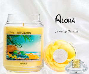 Aloha - Retired Label - Jewelry Candle