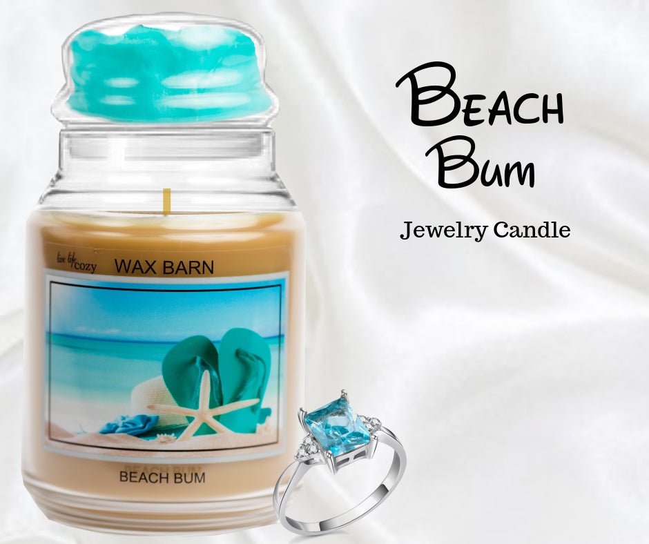 Beach Bum - Retired Label - Jewelry Candle