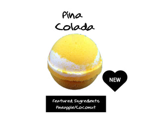 New Pina Colada - Jewelry Bath Bomb Duo