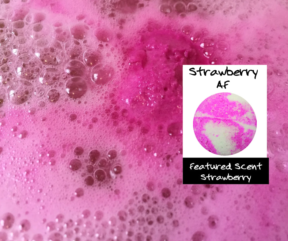 Strawberry AF - Bath Bomb