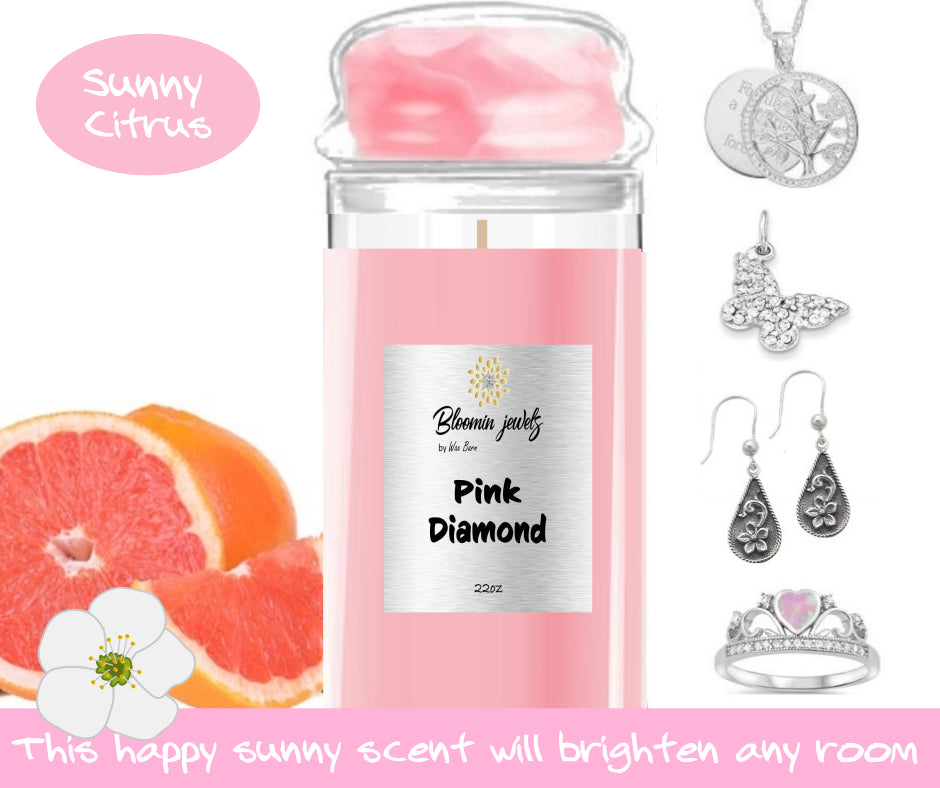 Pink Diamond - Jewelry Candle