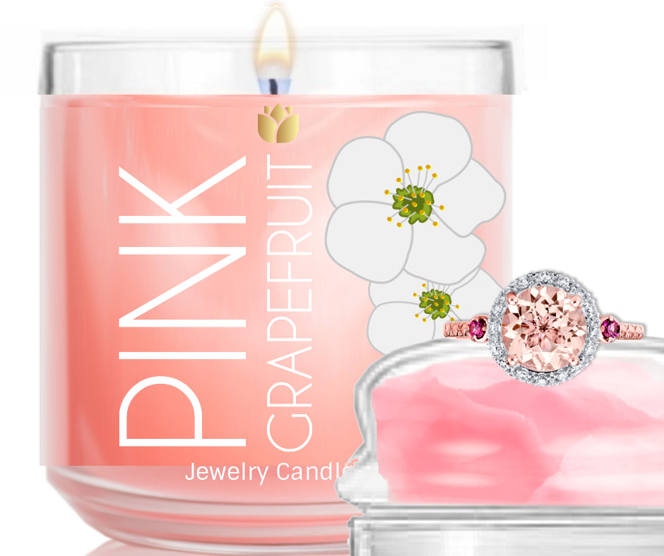 Pink Grapefruit - Sale - Jewelry Candle