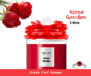 Rose Garden - Jewelry Candle 3 Wick