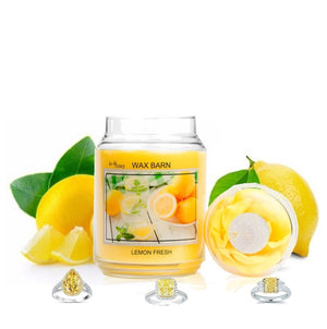 Lemon Fresh - Retired Label - Jewelry Candle