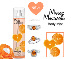Mango Mandarin - Jewelry Body Mist - Bloomin Jewels