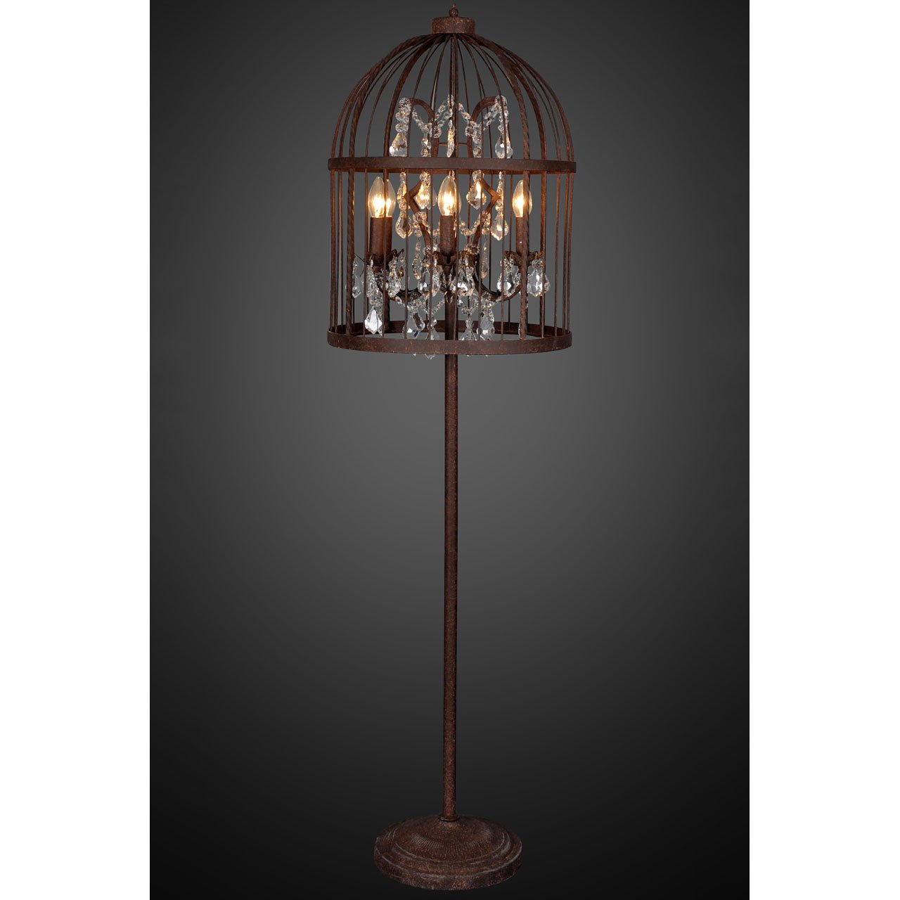 lamp in wall loft vintage for birdcage edison with metal led home retro item nordic bedroom cage sconces industrial lamps switch lighting aisle indoor from