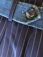Vienna pants formal pants chelsint Canadian designer striped