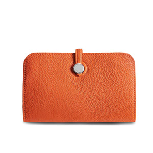 Orange Travel Wallet