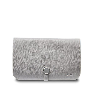 Stone Grey Travel Wallet