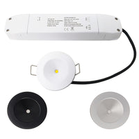 2W Emergency LED Downlight Non Maintained Ceiling Spot Light IP20