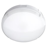 BALHAM 12W Standard LED Round Bulkhead Light IP65 Conduit Entry Drum Style IK08