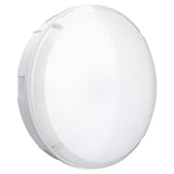 BALHAM 12W LED Microwave Motion Sensor Round Corridor Bulkhead Light IP65