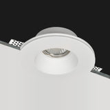 Plaster-In Trimless Downlight Gypsum Plaster Recessed Hotel Spot Light