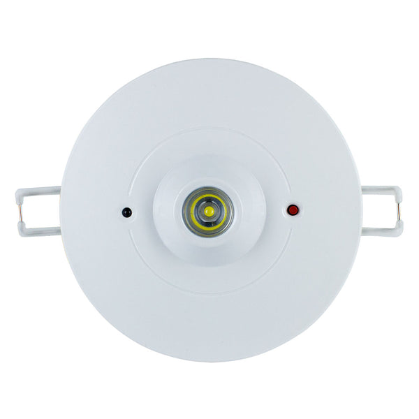 1W Emergency Recessed LED Downlight Ceiling Spot Light IP20