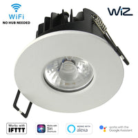WiZ Smart App Wifi IFTTT Downlight LED CCT Dimmable IP65 Fire Rated White