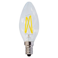 SES E14 Candle LED Bulb 2800K Warm White Dimmable 4W 400Lm