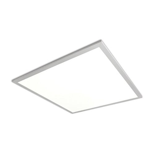 Economy 40W 600x600mm LED Recessed Panel Light for Office Suspended Ceiling White