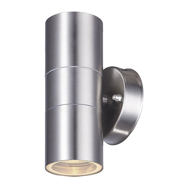 LED Up Down Outdoor Wall Spot Light Stainless Steel GU10 IP44