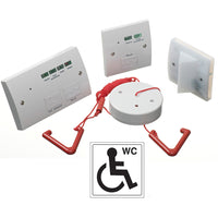 Disabled Toilet Alarm Emergency Assistance Accessible WC System Kit