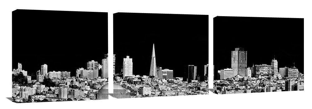 San_Francisco_Skyline_bw