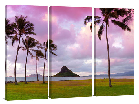 Chinamans hat, on the east side of Oahu, Hawaii.