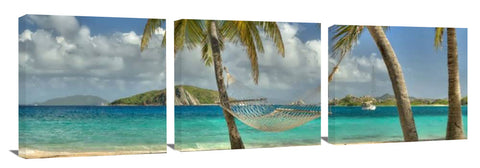 Panoramic wall print