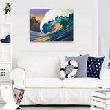 Deep Blues, Ready-to-Hang Gallery Wrapped Canvas Prints