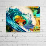 Fire and Ice, Ready-to-Hang Gallery Wrapped Canvas Prints