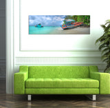 MARRIED TO THE SEA, Ready-to-Hang Photographic Print On Canvas