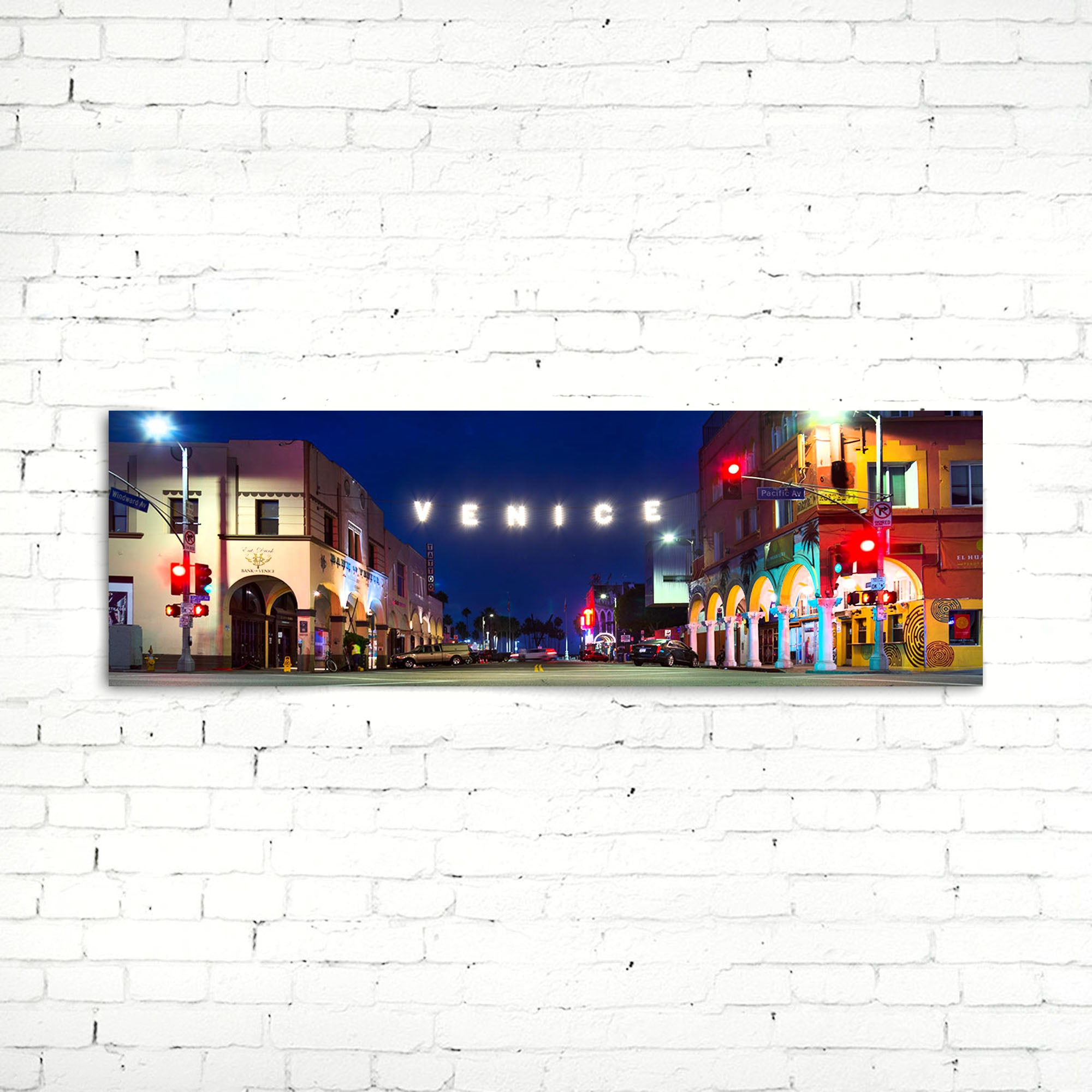 75% OFF Venice Beach Photographic Canvas Print