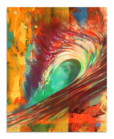 Fire Wave, Ready-to-Hang Gallery Wrapped Canvas Prints