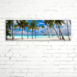 Perfect Beach, Ready-to-Hang Photographic Print On Canvas