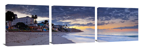 Laguna Beach in the early morning twilight