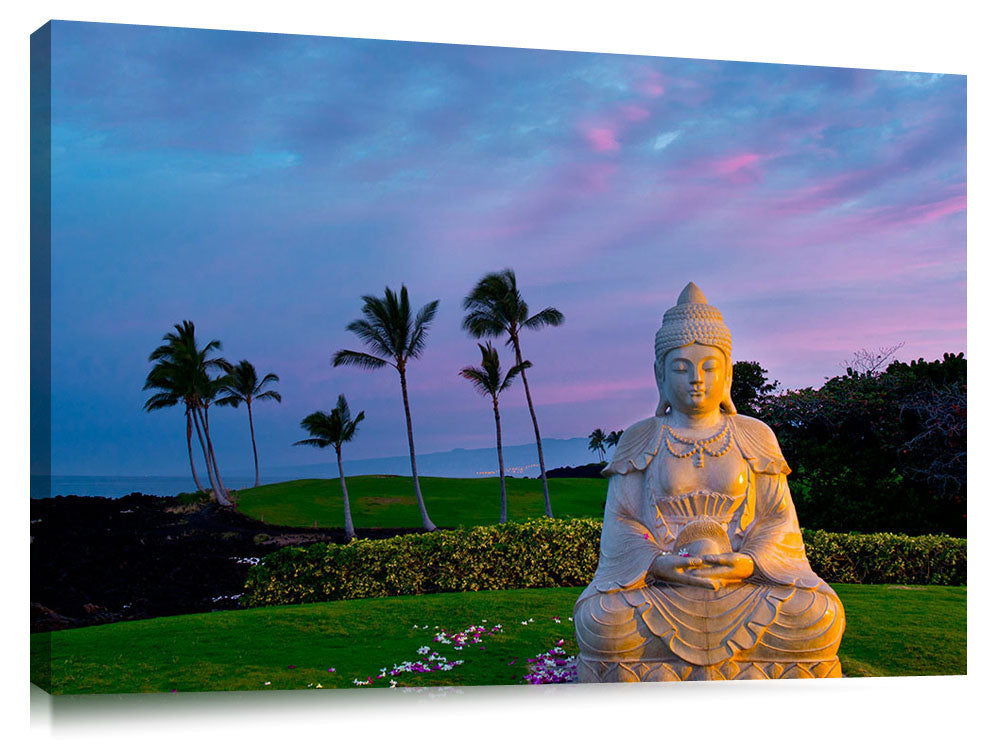 Buddha statue at Waikaloa Hilton on the Big Island of Hawaii.