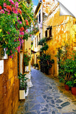 Chania-Alleyway_3d