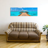 WELCOME TO UTOPIA, Ready-to-Hang Photographic Print On Canvas