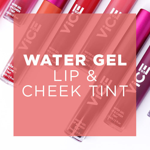 Water Gel Lip & Cheek Tint Collection