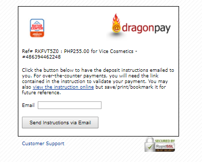How to pay using Dragonpay (Over the Counter/Offline) – Vice