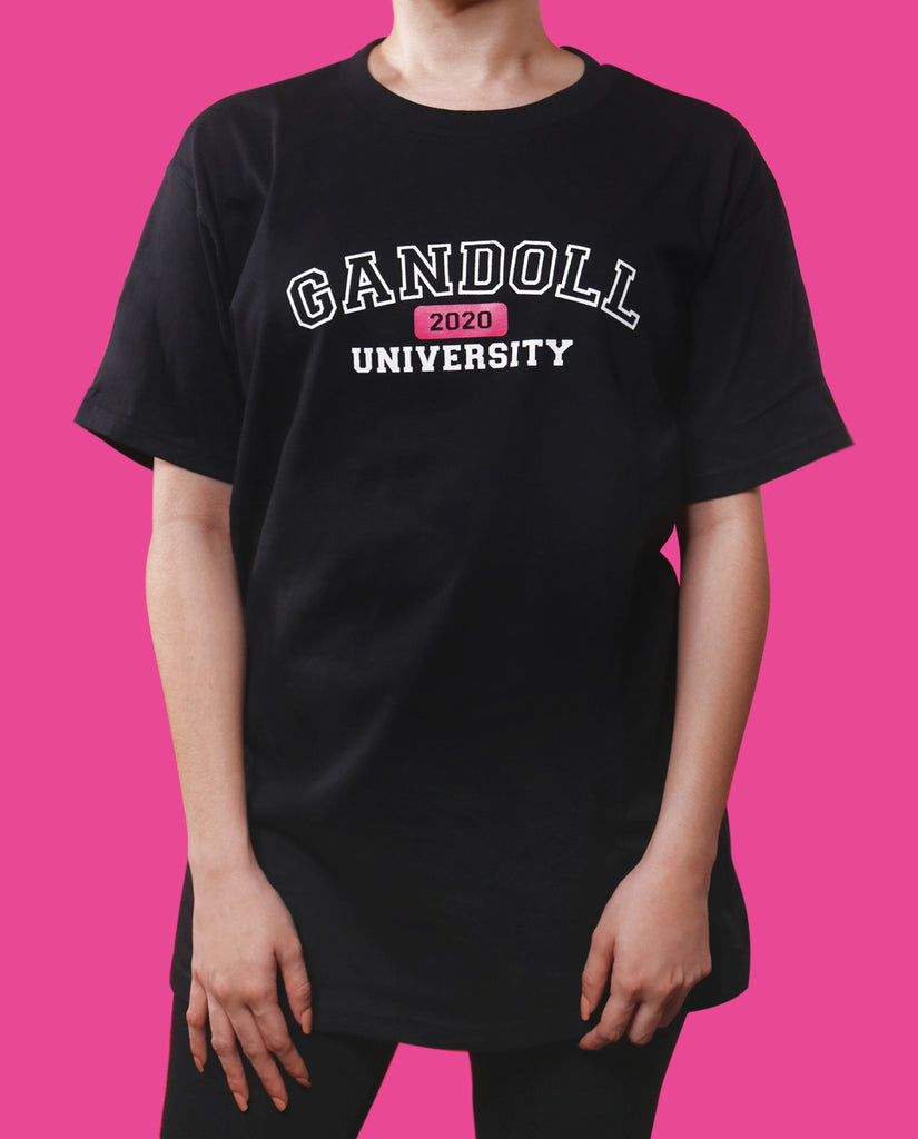 Gandoll University Center Logo Shirt - Black
