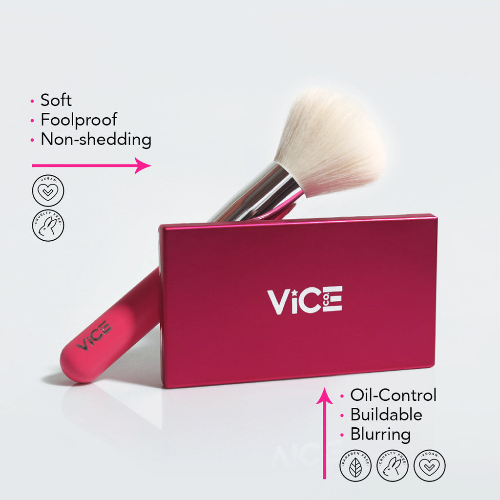 Pink Powder Brush Bundle