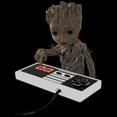 Groot T-Shirt Don't Push That Button T Shirt Womens India Baby Groot Dancing Groovy Tee Shirts Guardians Of The Galaxy