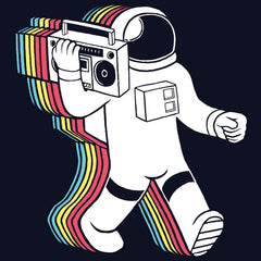 Spaceman T-Shirt Boombox Music TShirt Spiff Hardwell Spacemen Hype Astronaut India Trooper T-Shirts Online Store Designs Sale Cheap Electronic Electro Eat Sleep