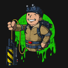 Fallout T-Shirt Ghost Busters T-Shirts T Shirts Shirt Of The Month India Game Fall Out Boy Pipboy Buy Vault Pip Best Nuka Cola Ghostbusters Mens Retro Vintage