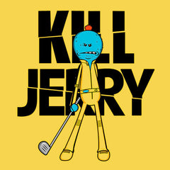 Rick And Morty Meeseeks Kill Jerry T-Shirts India Funny Quotes T Shirts Online Shopping Graphic Funky Printed Cool Tees For Mens Clothing Casual Wear Round Neck