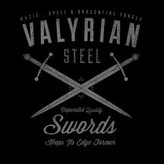 Game Of Thrones Valyrian Steel T-Shirts India Funny Quotes T Shirts Online Shopping Graphic Funky Printed Cool Tees For Mens Slogan Clothing Casual Round Neck