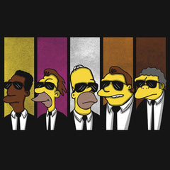 Reservoir Dogs Simpsons T-Shirts India Funny Quotes T Shirts Online Shopping Graphic Funky Printed Cool Tees For Mens Slogan Womens Clothing Casual Round Neck