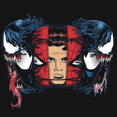 Spiderman Venom Parker T-Shirts India Funny Quotes T Shirts Online Shopping Graphic Funky Printed Cool Tees For Mens Slogan Womens Clothing Casual Round Neck