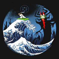 Samurai Jack Aku T-Shirts India Funny Quotes T Shirts Online Shopping Graphic Funky Printed Cool Tees For Mens Slogan Womens Clothing Casual Round Neck