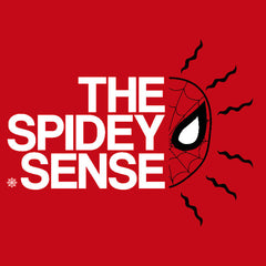 Spidey Sense Spier-Man T-Shirts India Funny Quotes T Shirts Online Shopping Graphic Funky Printed Cool Tees For Mens Slogan Womens Clothing Casual Round Neck